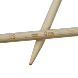 Nadelspiel Bambus Länge und...